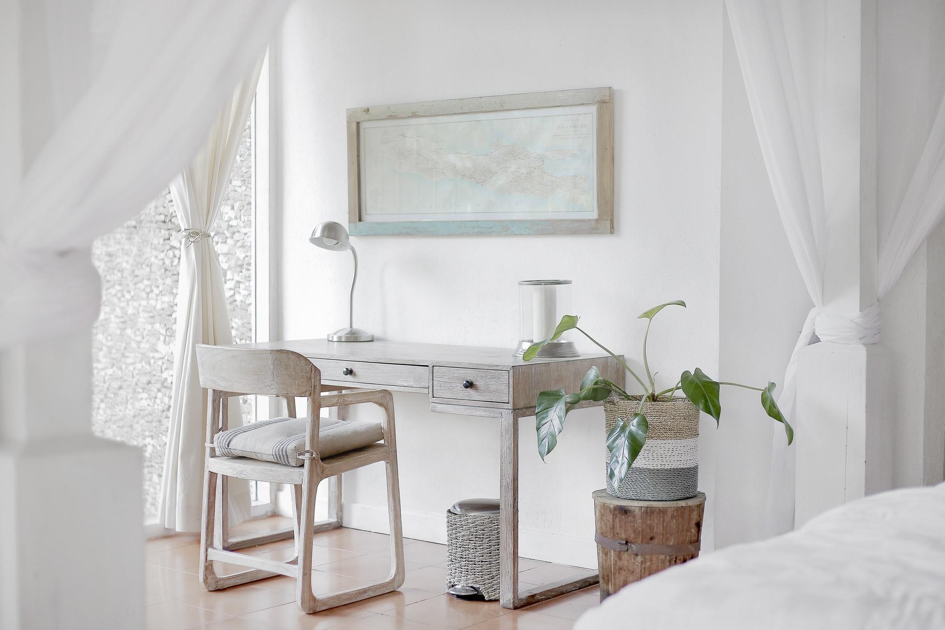 A minimalist apartment