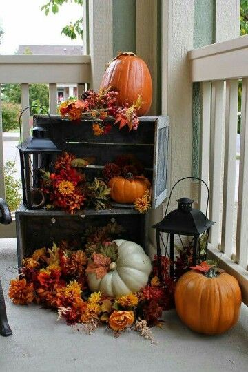 pumpkin decorations for your rental