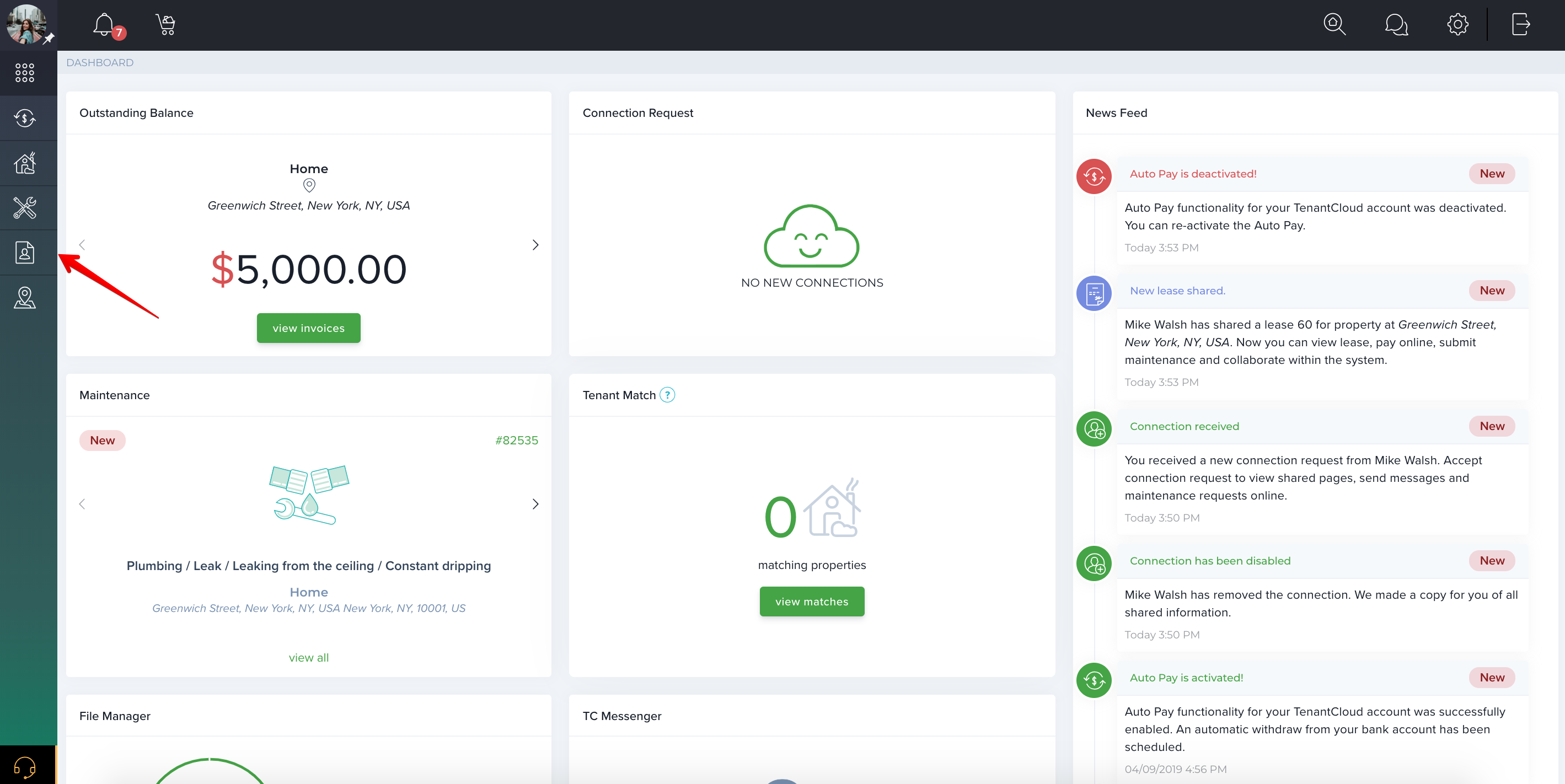 Let's get started with TenantCloud!