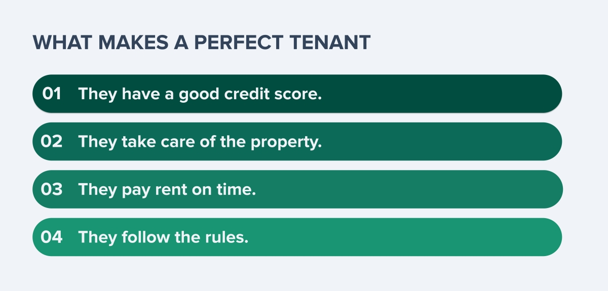 What makes a perfect tenant