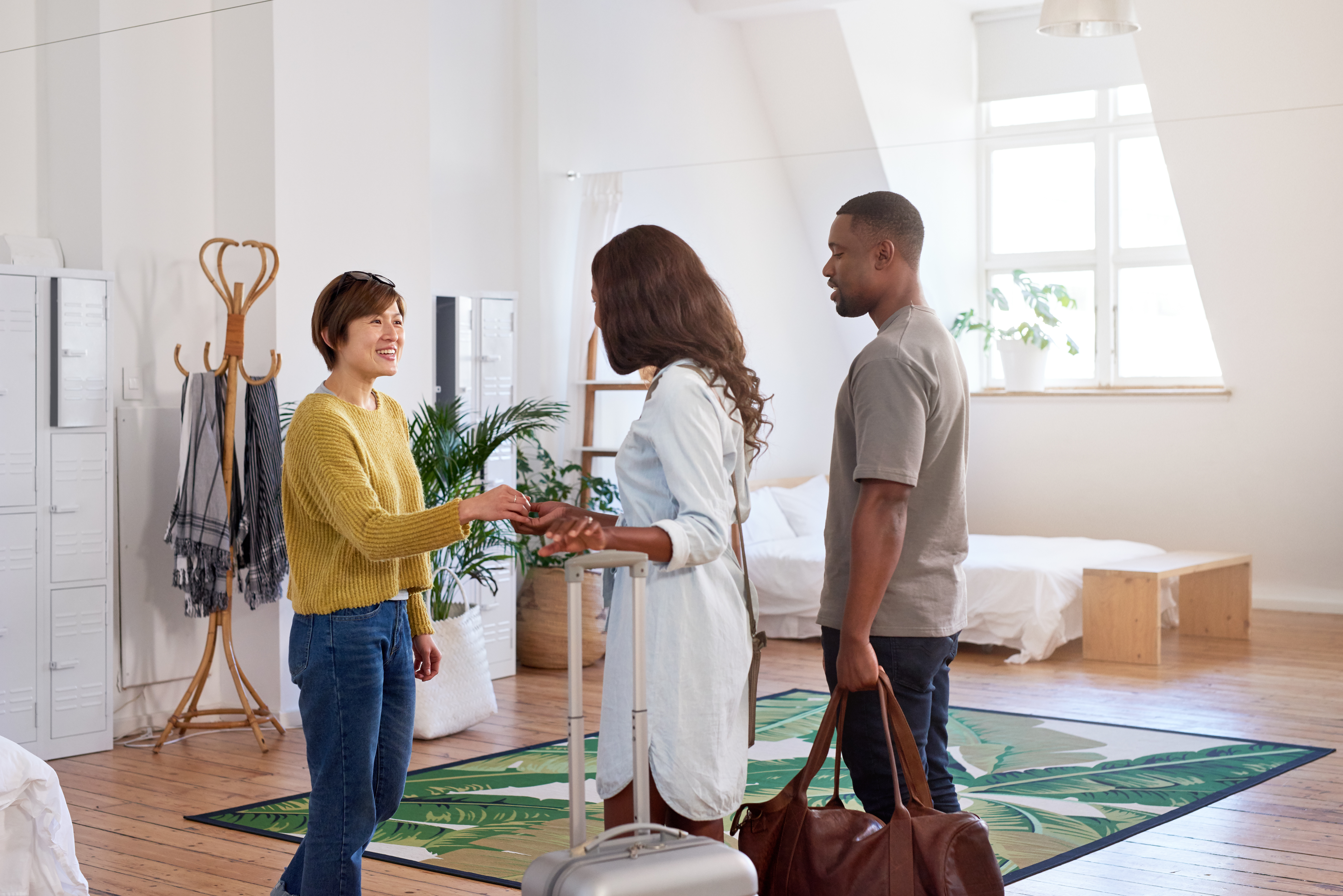 Long-term guests in the rental property