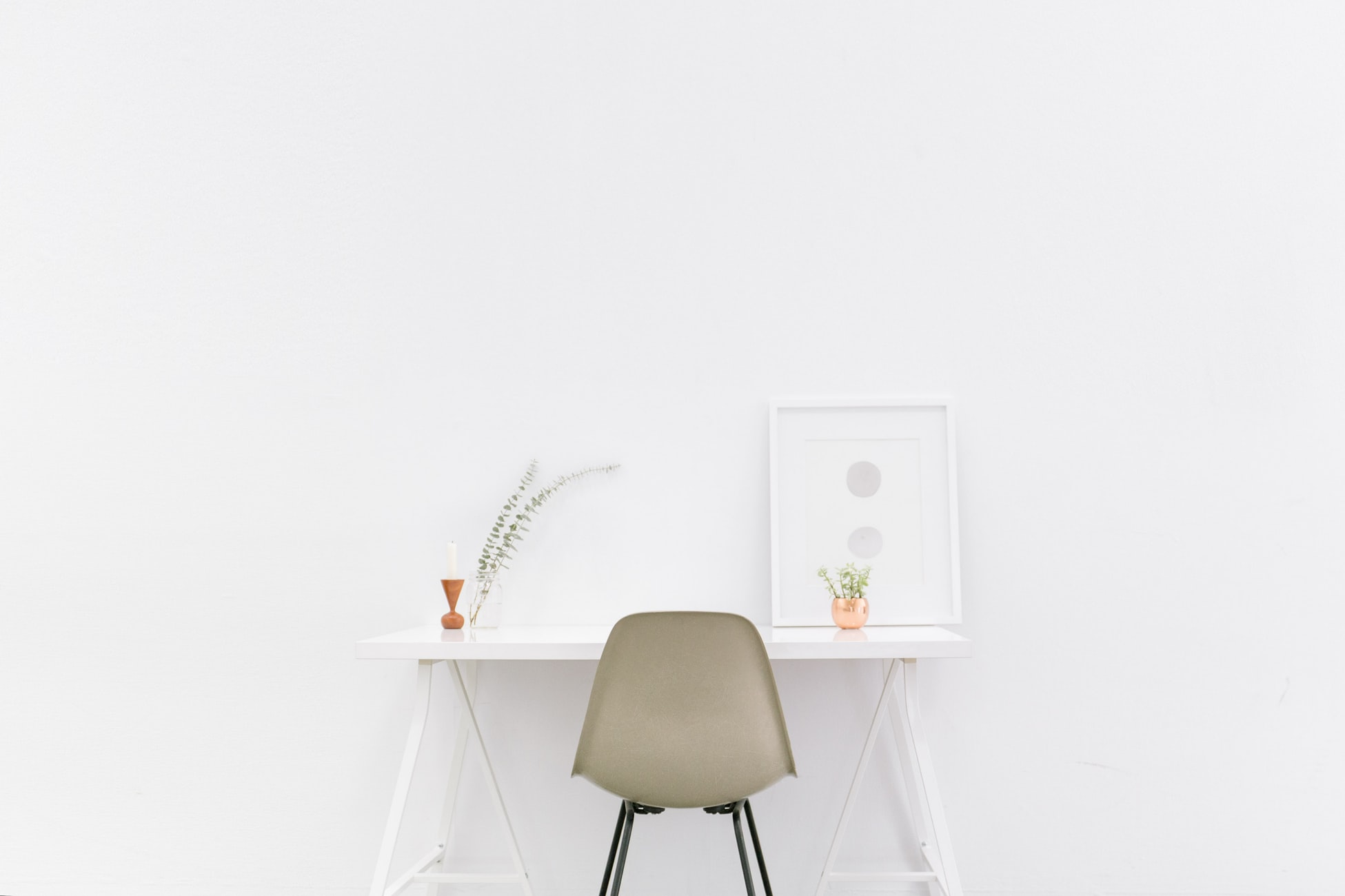 Furniture in a small rental