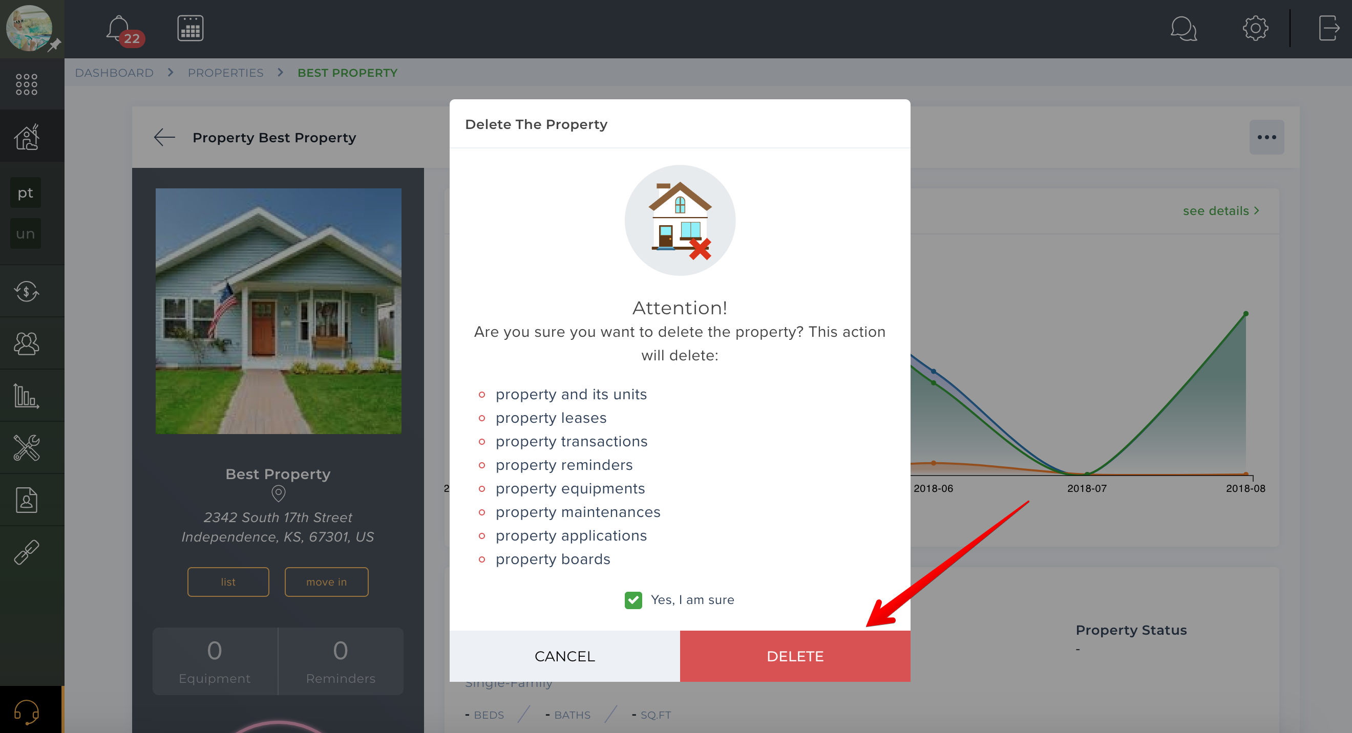 How to remove a property?