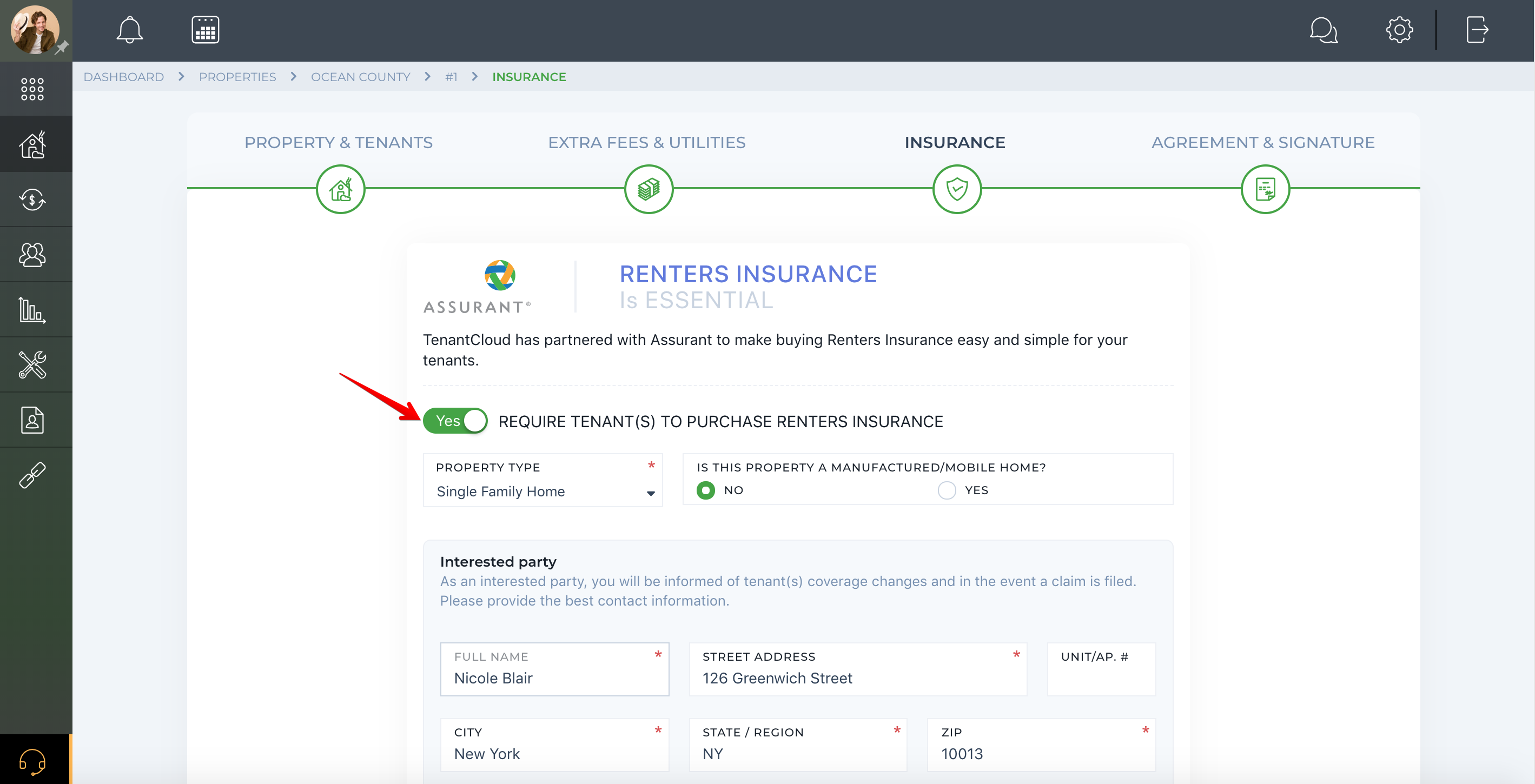 How to request Renters Insurance from tenants?