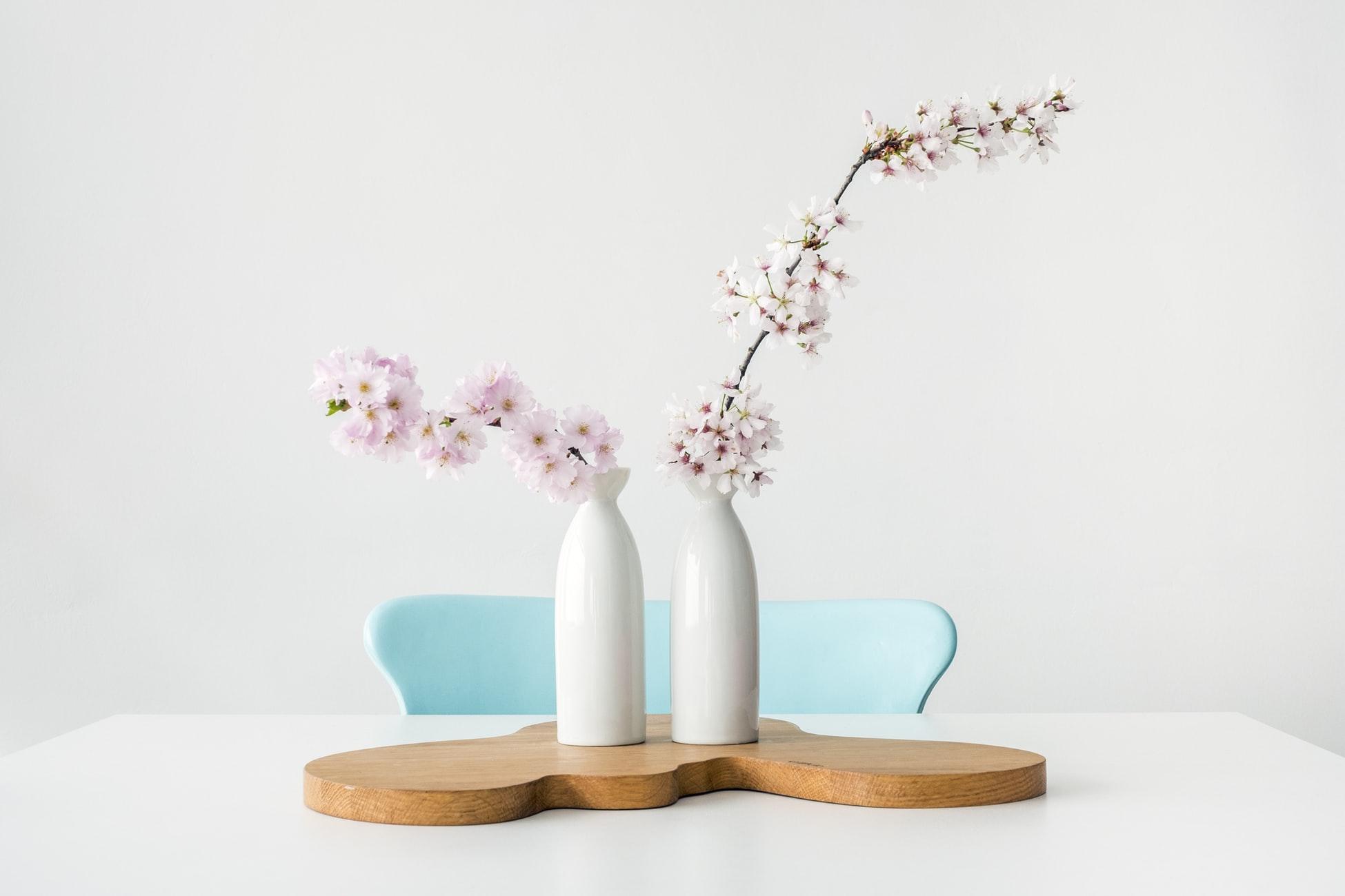 A minimalist interior design