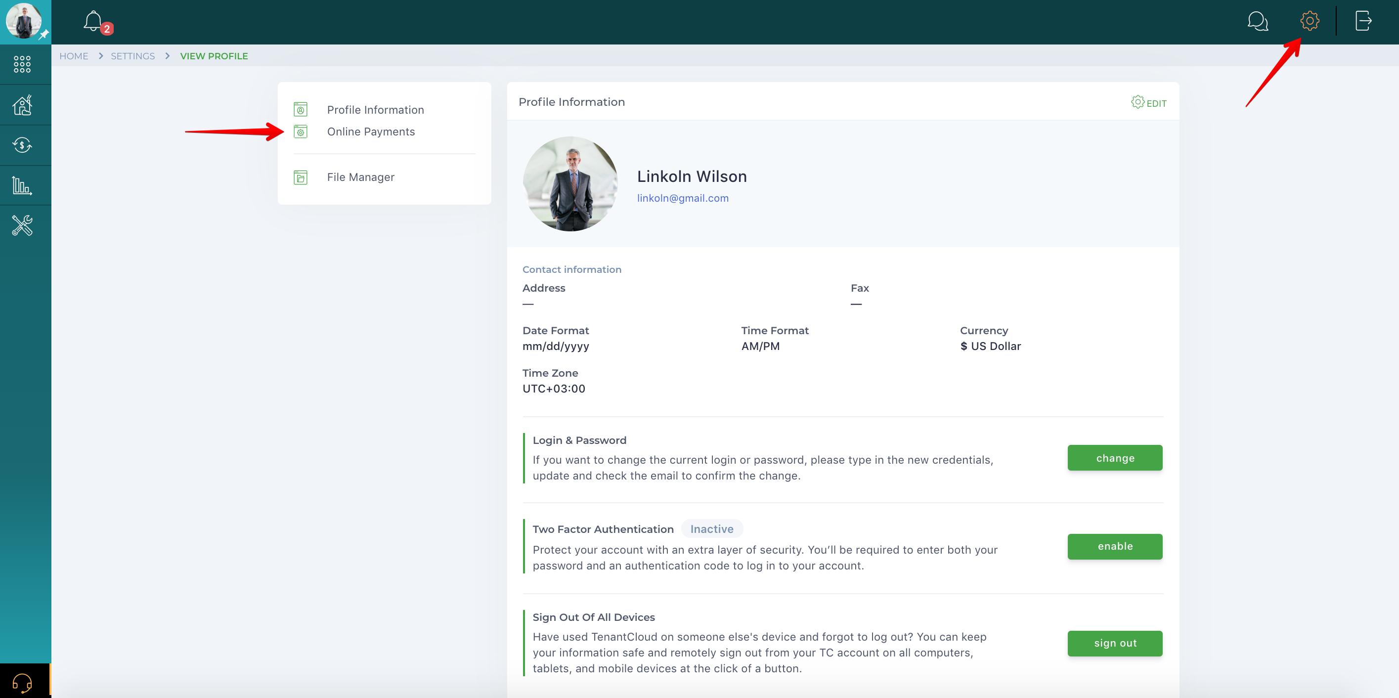 How do I set up a business account?