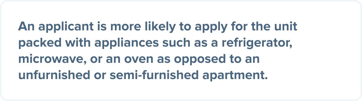 Appliances For Rental Property