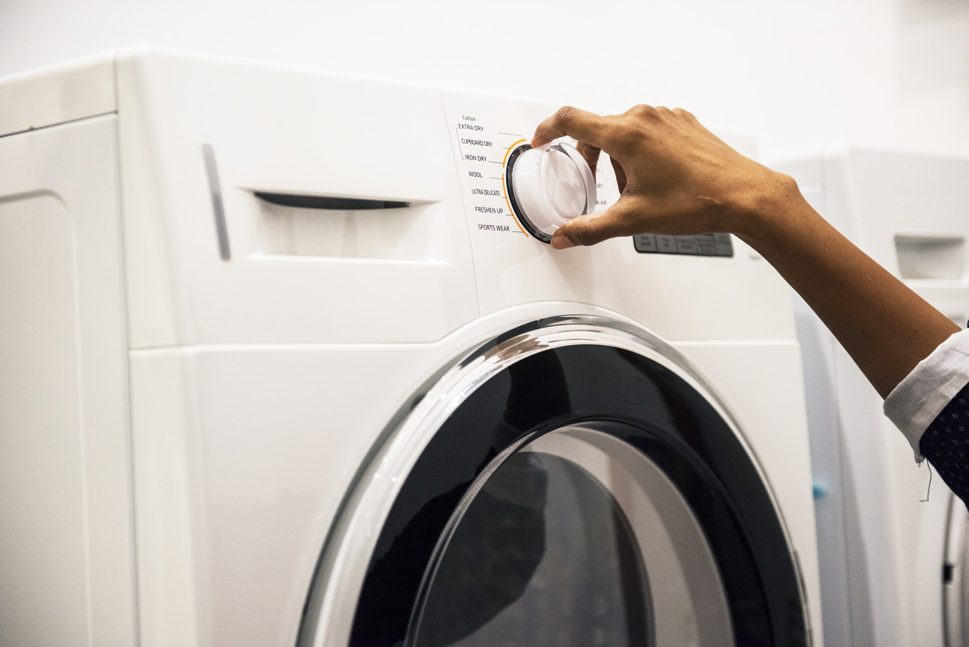 Why do landlords disallow using washing machines in the rental properties